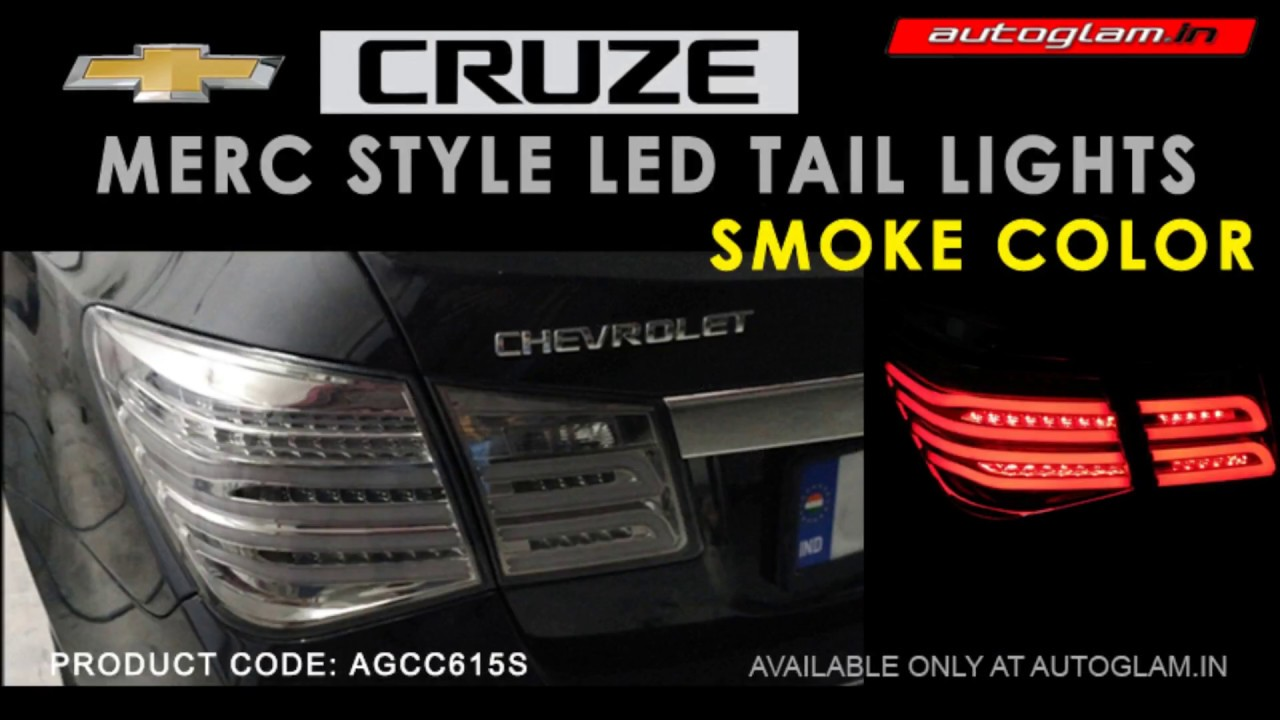 AGCC615S, Chevrolet Cruze 2009-2017 MERC Style LED Tail Lights ...