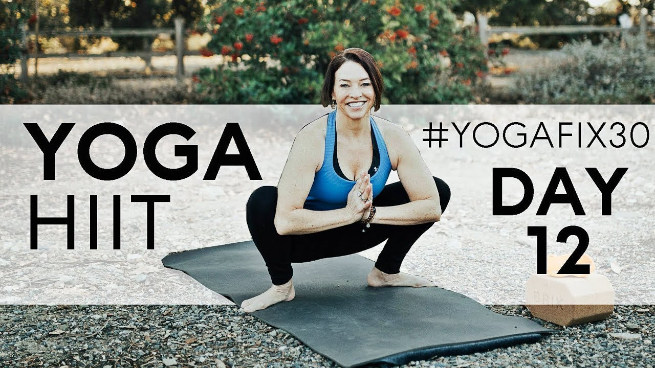 Yoga Fix 30 - Day 12 - HIIT With Handstand — Fightmaster