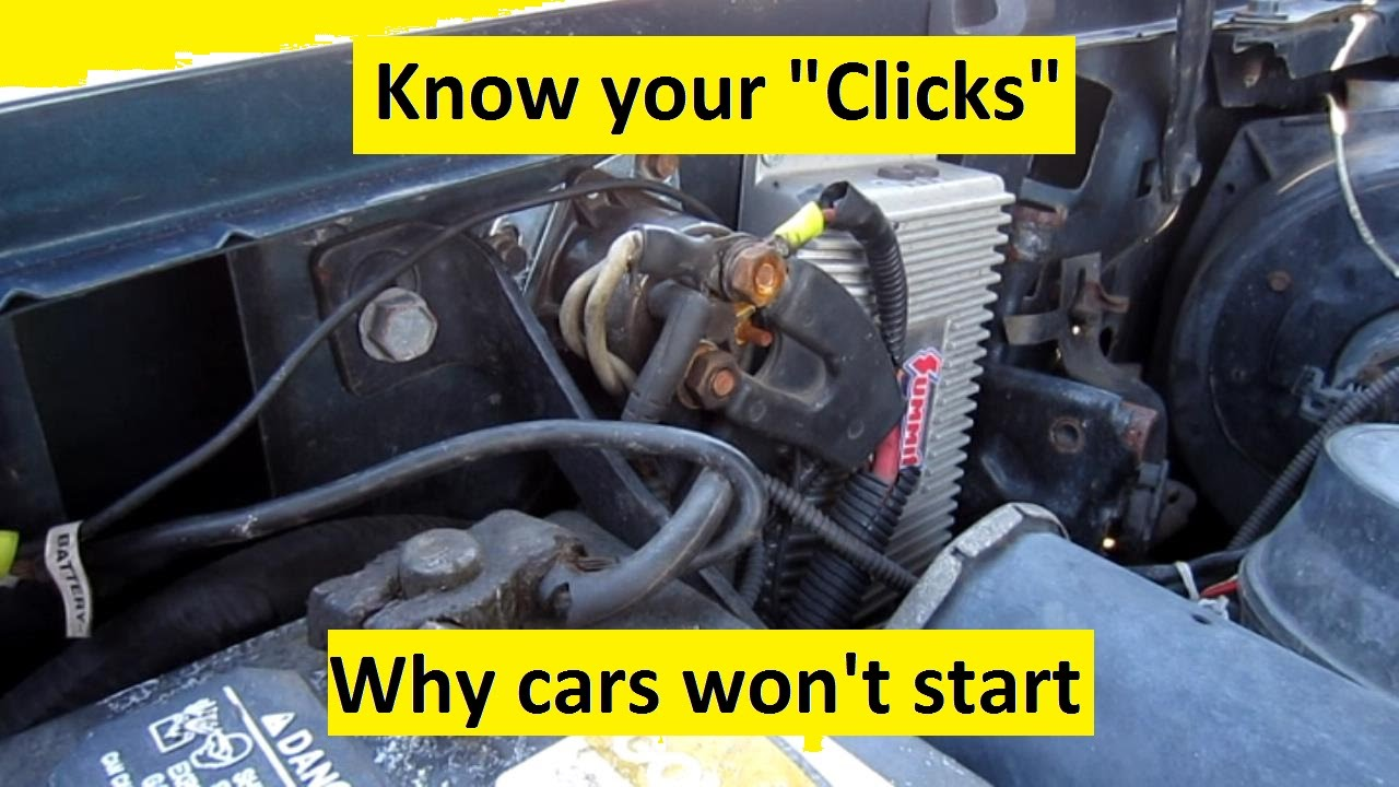 Know Your Cars Clicks Why It Wont Start Youtube 04 Dodge Ram Fuse Box Problems