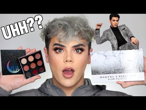 UNBIASED REVIEW: Manny MUA X MORPHE! IS IT A MESS? thumbnail