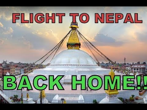 Nepal Travel - 2016 || Flight To Nepal