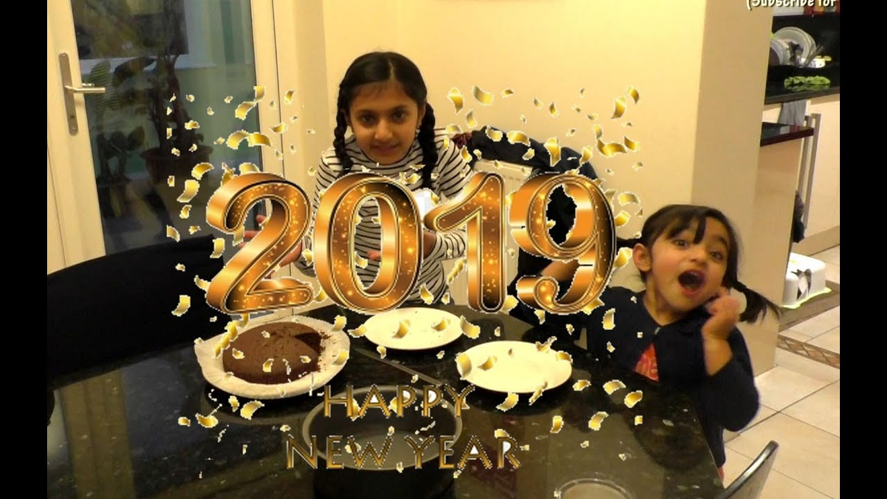 how to bake a happy new year 2019 festive chocolate cake