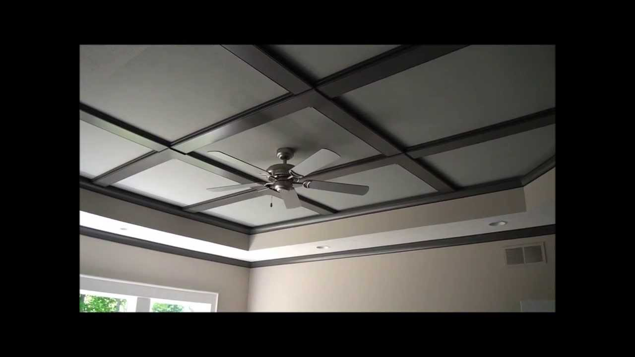 Coffered ceiling design details the inside outside guys for Coffered ceiling detail