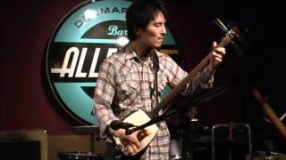 Hibiki Ichikawa - 秋田荷方節 Akita Nikata-bushi @ Alleycat, London on 29th Jan. 2013