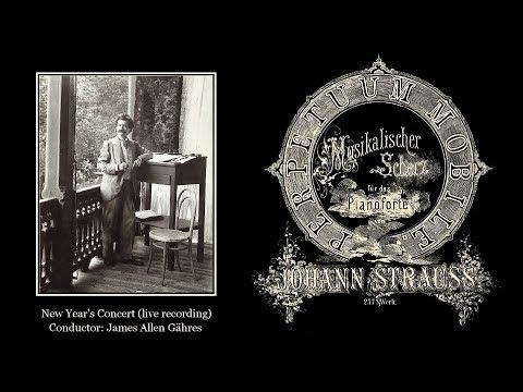 J. Strauss II - Perpetuum Mobile, Op. 257 - James Allen Gähres, cond., Ulm Philharmonic (live)