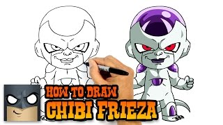 How to Draw Frieza | Dragon Ball Z