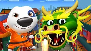 Talking Tom Gold Run Android Gameplay Kung Fu Hank in WACKY PLANET