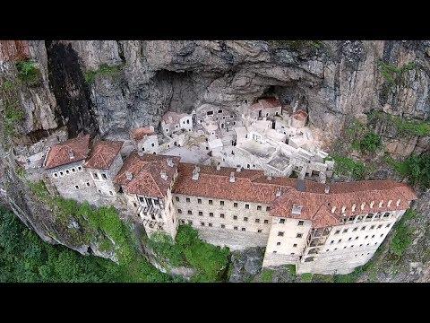 To the Caspian Sea ep4 - Sumela Monastery & waterfalls - Travel vlog calatorii tourism