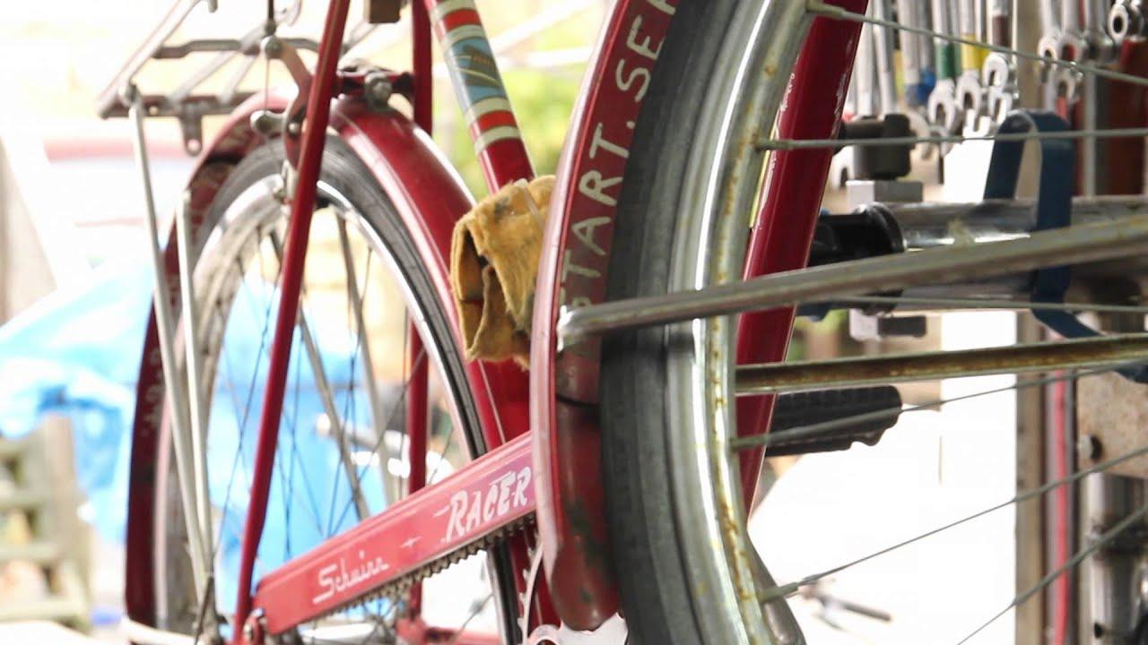 ea5cd506e12 1960's Schwinn Racer Vintage Bicycle Check - BikemanforU - YouTube
