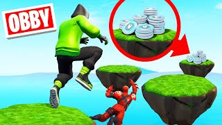 Make The OBSTACLE COURSE To WIN 10,000 V-Bucks! (Fortnite)