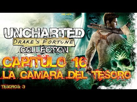 Uncharted 1 La cámara del tesoro GUIA+TESOROS