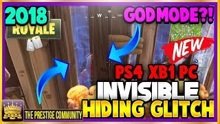 NOUVEAU Fortnite Glitches 2018! DEUX ''INVISIBLE GLITCHES'' EASY Wallbreach Hiding Glitch! (Ps4/XB1/PC)
