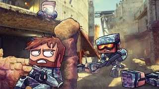 Minecraft | MILITARY ASSAULT CHALLENGE - Modded Hunger Games! (Fight or Die)