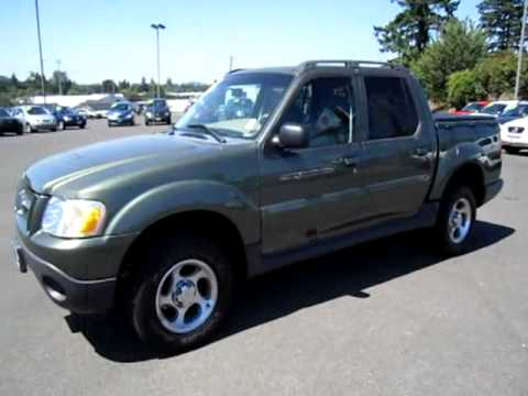 2004 Ford Explorer 4x4 Sport Trac Xlt Sport Utility Pickup 10198 Youtube
