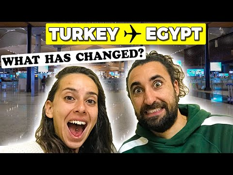 The Reality of Flying in 2021 Turkey - Egypt