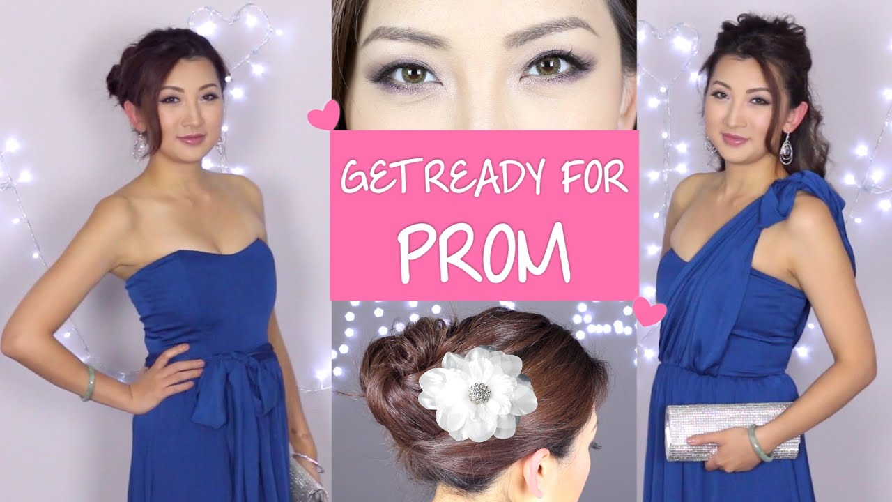 Prom Hair Makeup Tutorial Youtube