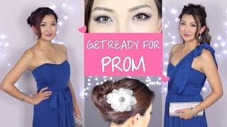 Prom Hair & Makeup Tutorial