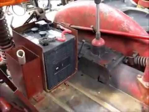 Farmall Cub 6-volt Cranking 2 on