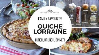 QUICHE LORRAINE recipe - French cuisine classic!