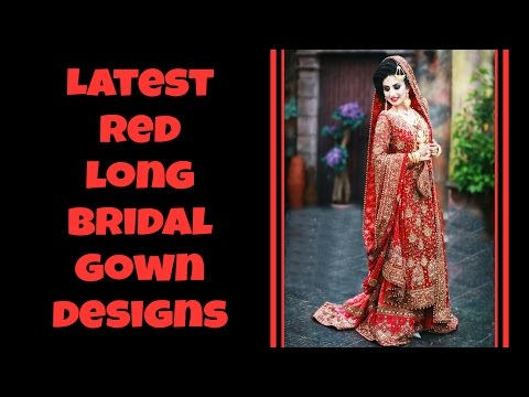 130 Exclusive Red Wedding Gown Designs