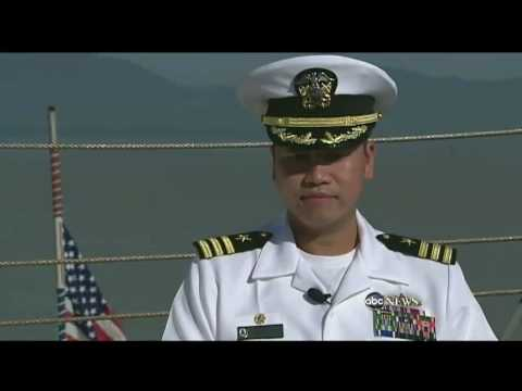 Vietnam Refugee Becomes U.S. Navy Captain