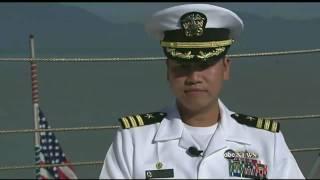 Vietnam Refugee Becomes U.S. Navy Captain