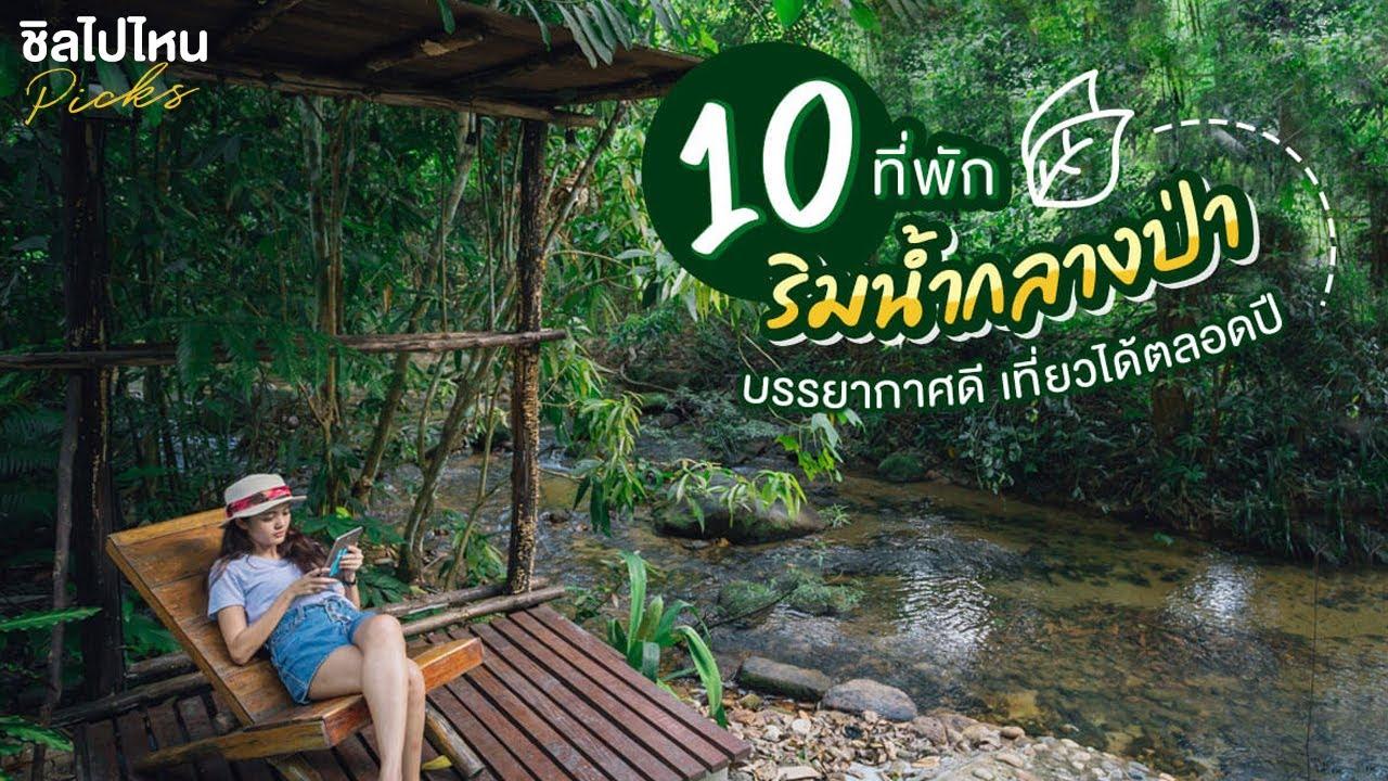 10 ที่พักริมน้ำกลางป่า บรรยากาศดี เที่ยวได้ตลอดปี อัพเดทใหม่ 2021!