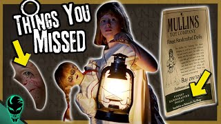 31 Things You Missed in Annabelle: Creation (2017)