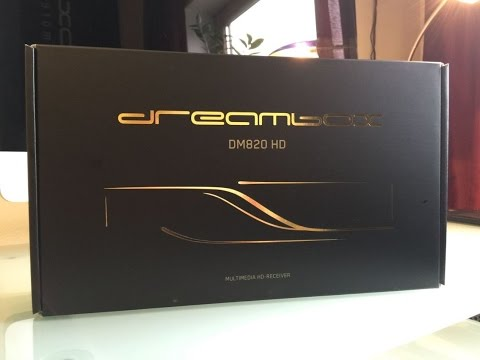 Dreambox 820HD unboxing in Dubai