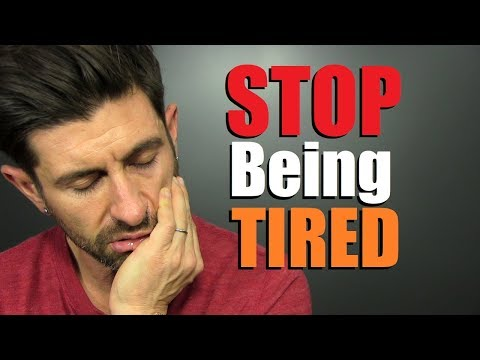 How To STOP Feeling TIRED All The Time! (GUARANTEED)