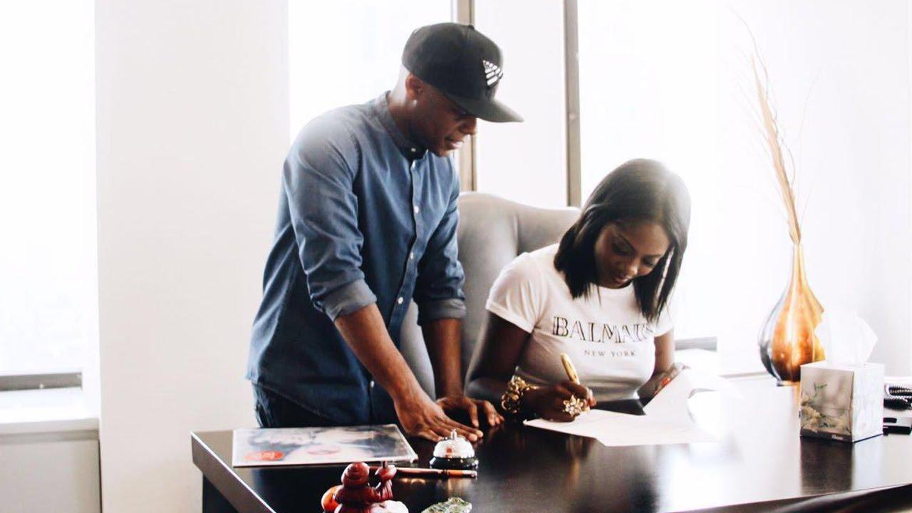 Tiwa Savage signs with Roc Nation