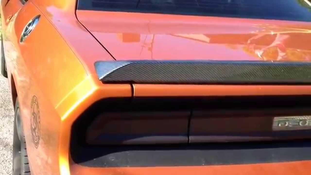 Carbon Fiber Hydrographic 2011 Dodge Challenger S E Front