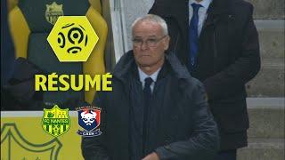 FC Nantes - SM Caen (1-0)  - Résumé - (FCN - SMC) / 2017-18