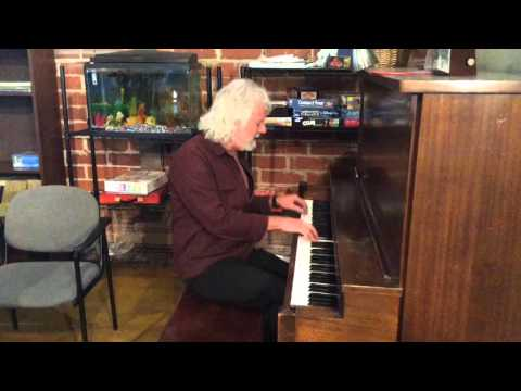 Chuck Leavell on the keys at Daybreak
