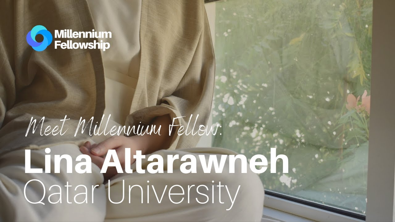 Millennium Fellow Lina Altarawneh on promoting ethical production of clothes #MillenniumFellowship