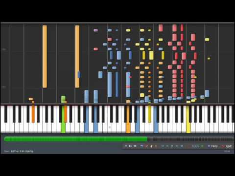 Harry Potter - Hedwig's Theme MIDI | Synthesia HD 720p