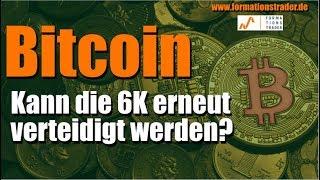 Bitcoin: Kann die 6K erneut verteidigt werden?