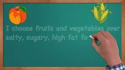Healthy Food Essay - Eating Healthy Affirmations