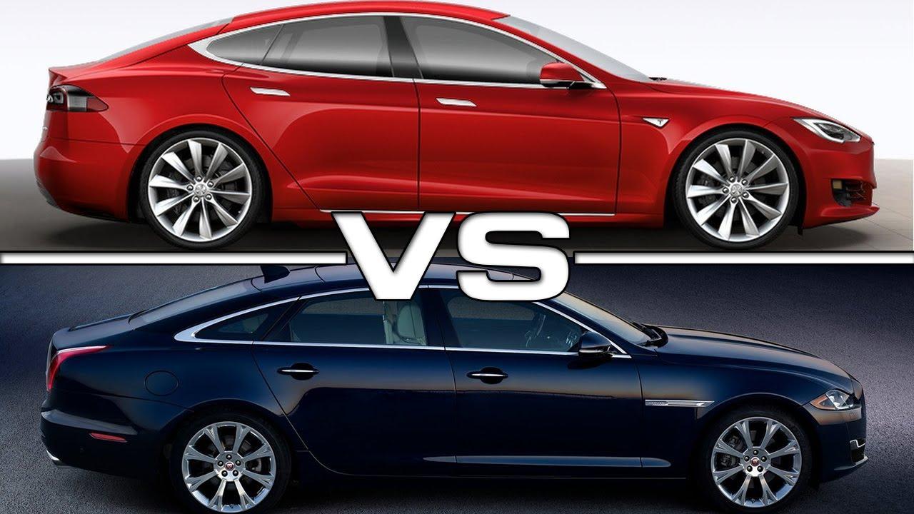 2017 Tesla Model S Vs 2016 Jaguar Xj