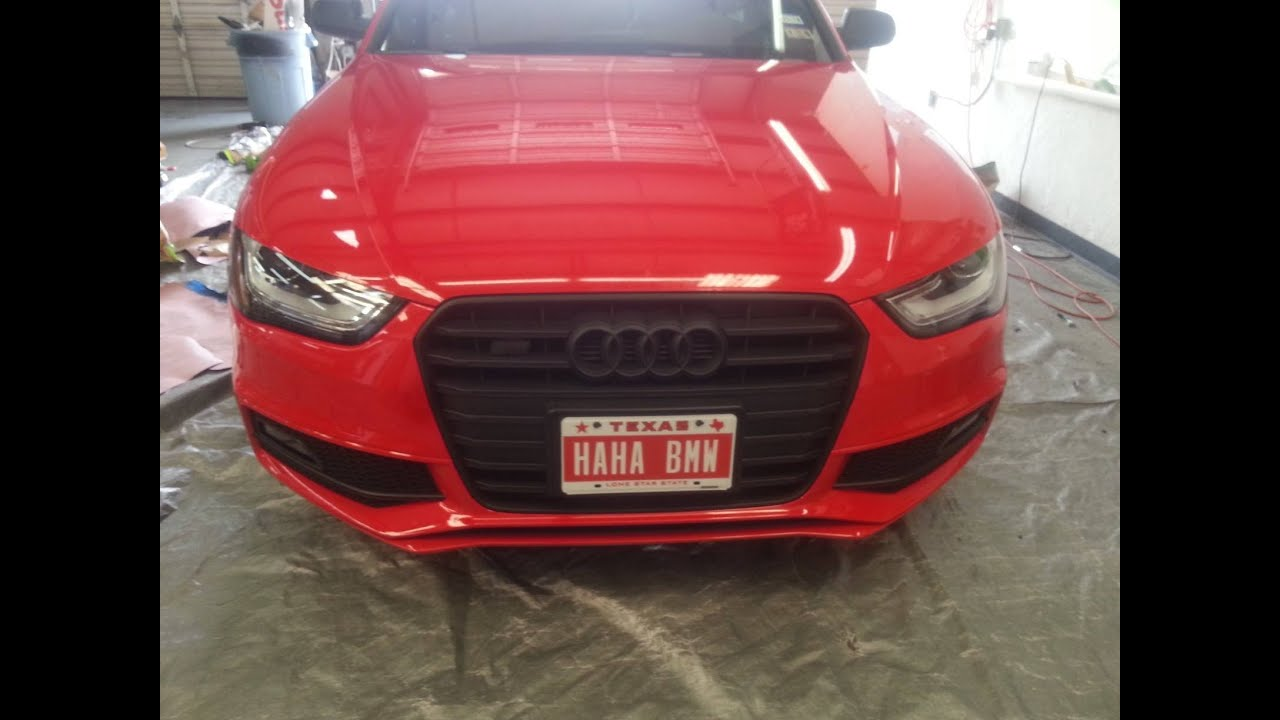 Plasti Dip Emblems >> PlastiDip on A 2013 Audi S4 with Twistedchild420- Wheels ...