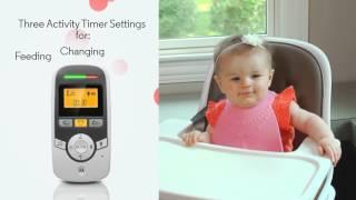 Smyths Toys - Motorola MBP161 Timer Audio Baby Monitor