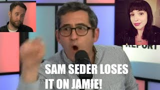 Sam Seder LOSES IT & GOES OFF On Co-Host Jaime Peck & Then Apologizes For Outburst!