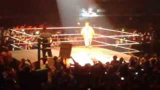 WWE JOHN CENA ENTRANCE WEMBLEY LONDON 2014 (HD)