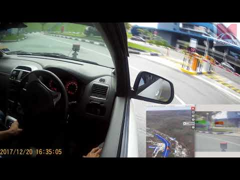MooVita - Fully-autonomous vehicle testing in Singapore.