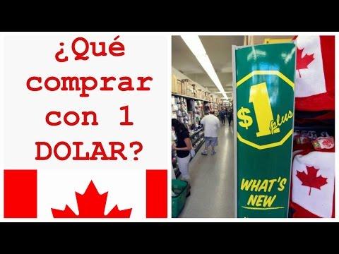 ¿Qué puedo comprar con 1 DOLAR Canadiense?