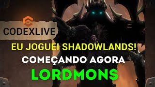 [LIVE] VOLTEI! Blizzcon não acabou! Live Especial conversando SHADOWLANDS E BLIZZCON!