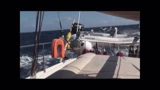 Sailing from Agadir to Las Palmas