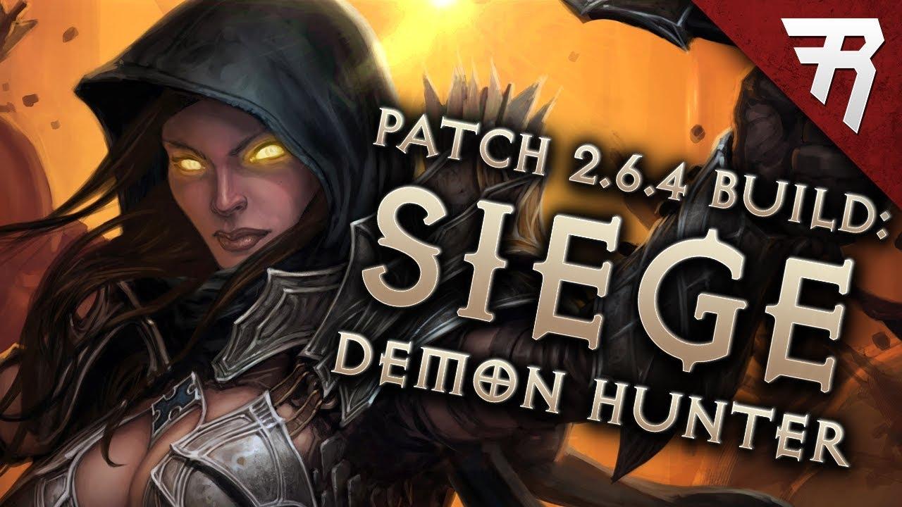 Diablo 3 Season 17 Demon Hunter N6M4 GR 128+ Natalya Marauder build guide  Patch 2 6 5