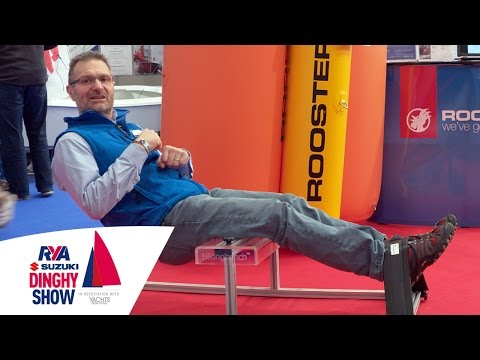 Top Hiking Tips with Steve Cockerill - Rooster Sailing - RYA Suzuki Dinghy Show 2017 - Sail Better