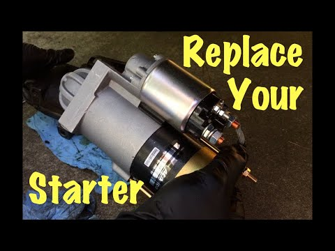 1991 – 2007 GM Truck & Van Vortec Starter Motor Replacement (Chevy, GMC & Cadillac)